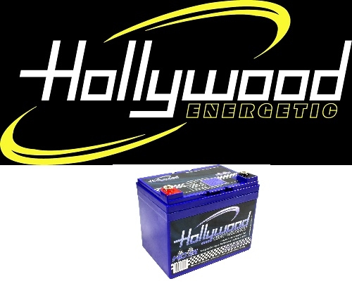 Hollywood accu's / condensator