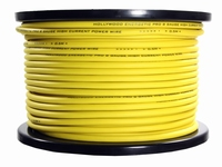 10mm2 power kabel geel