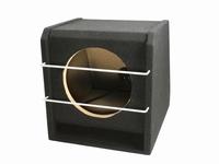 compact 10 inch gepoorte kist met grill
