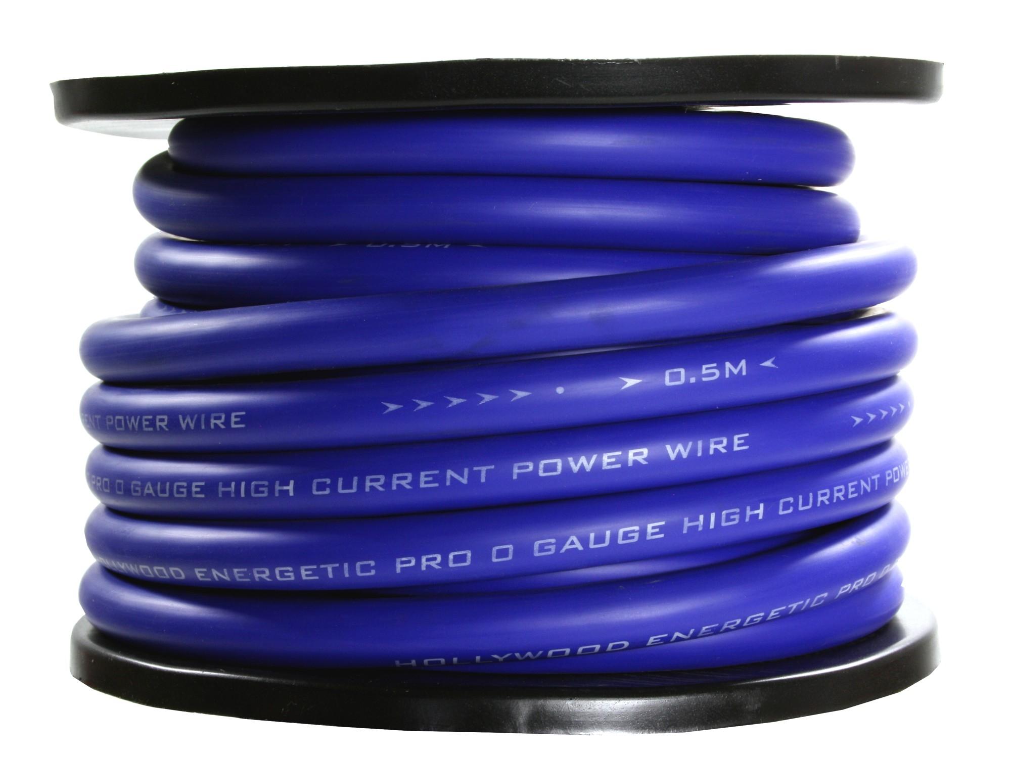 20mm2 power kabel blue