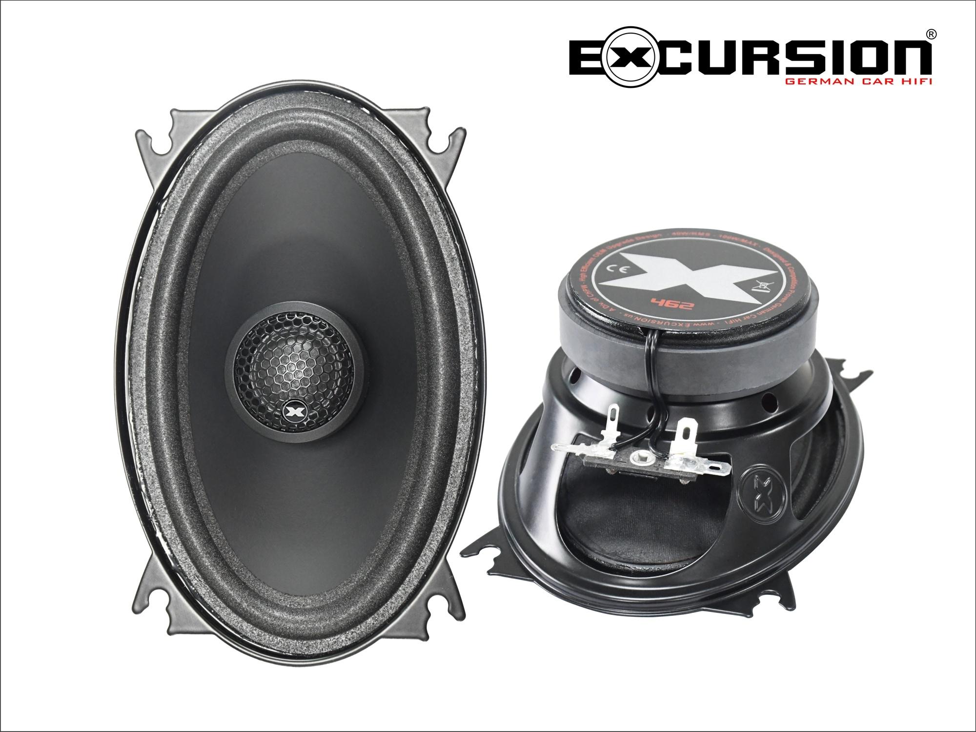 """4x6"""" coaxiaal ovaal  speaker"""