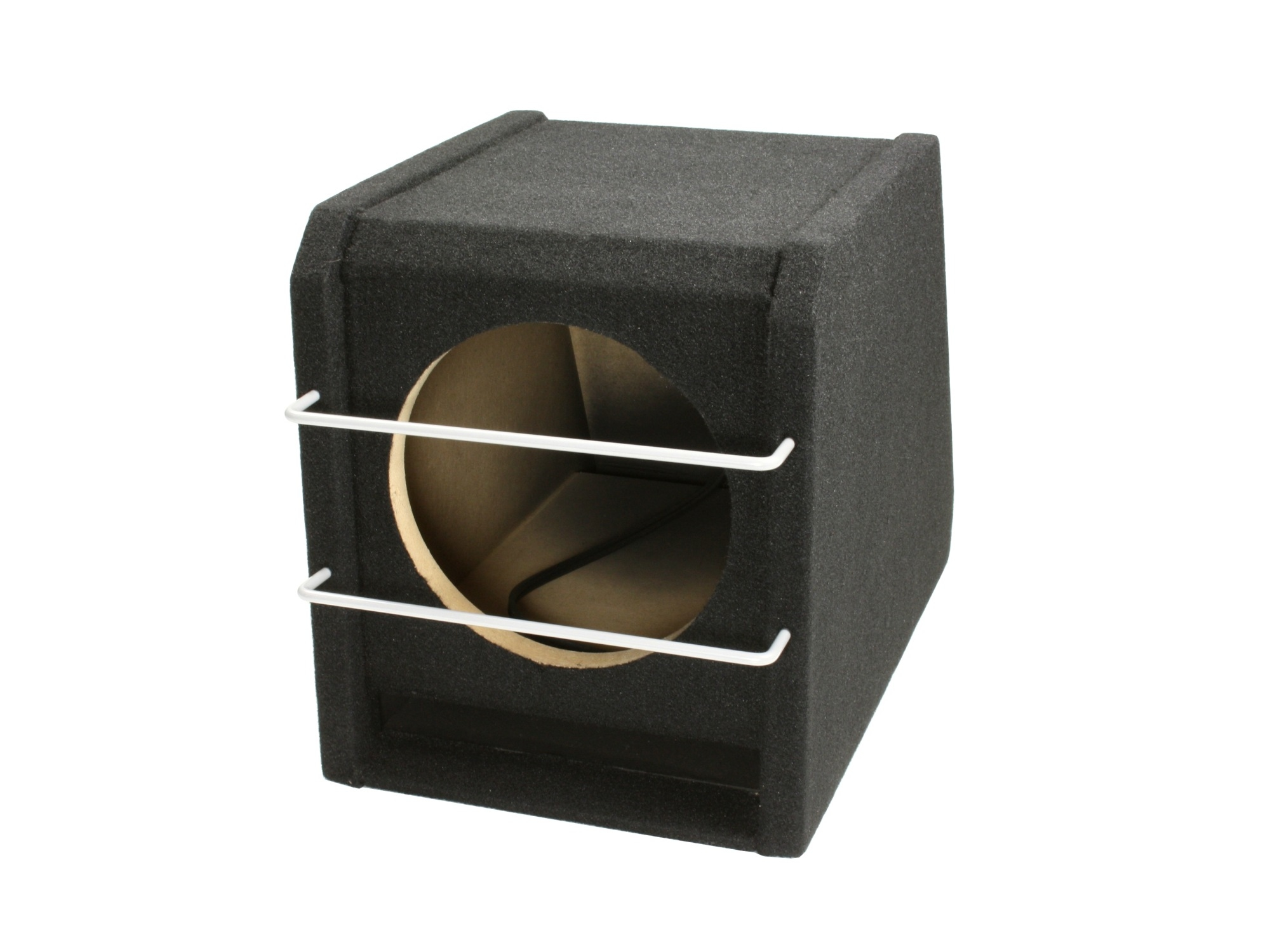 compact 8 inch gepoorte kist met grill