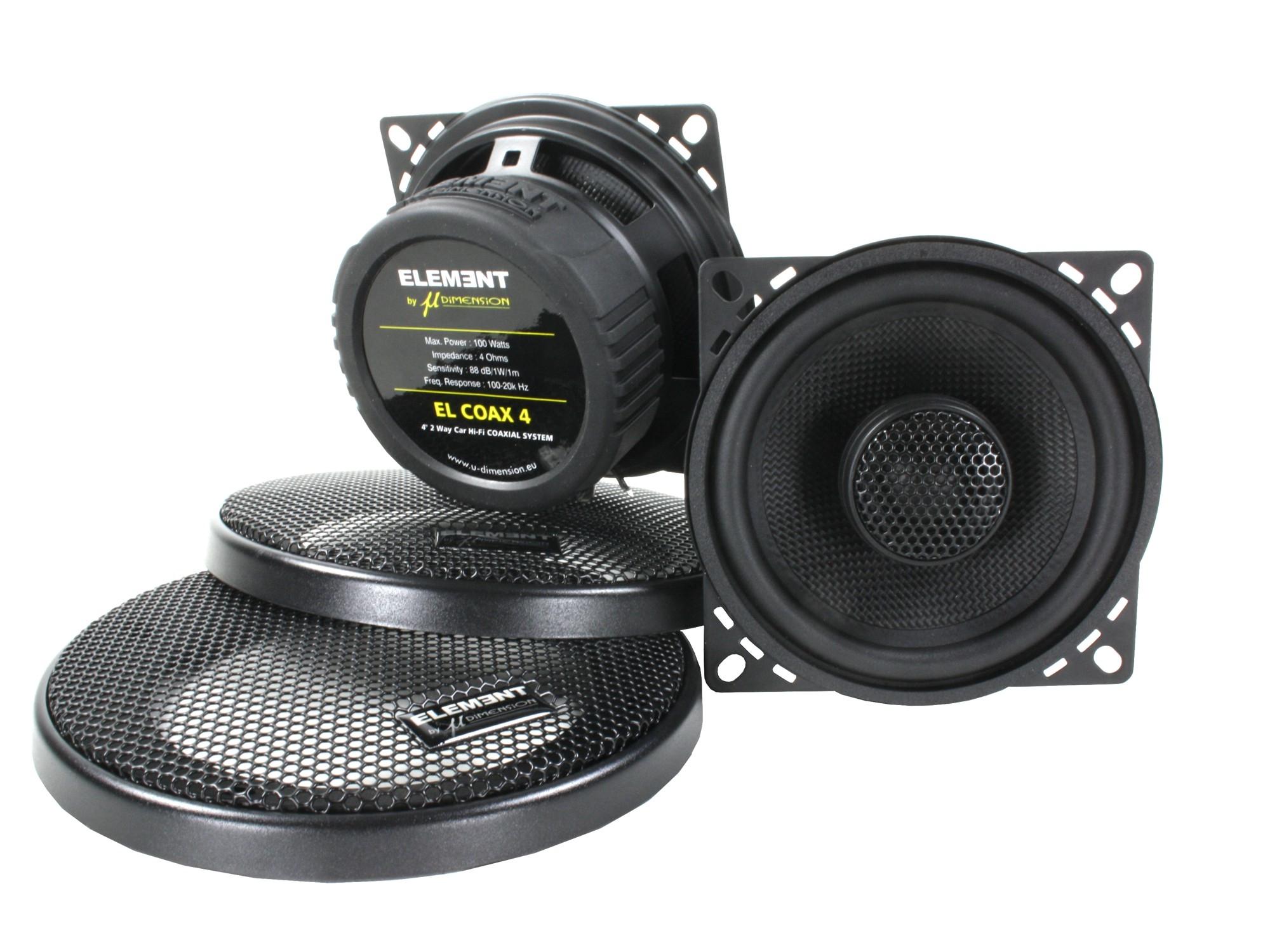 EL Coax 4 / 40 watt rms