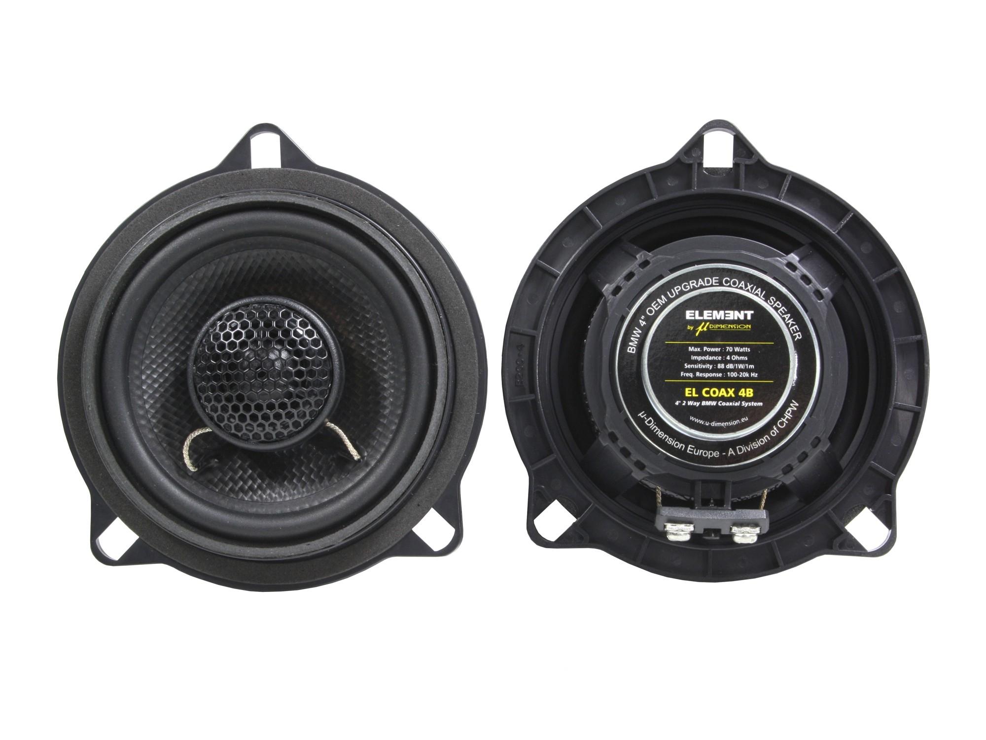 El coax 4 b / 10 cm bmw OEM upgrade