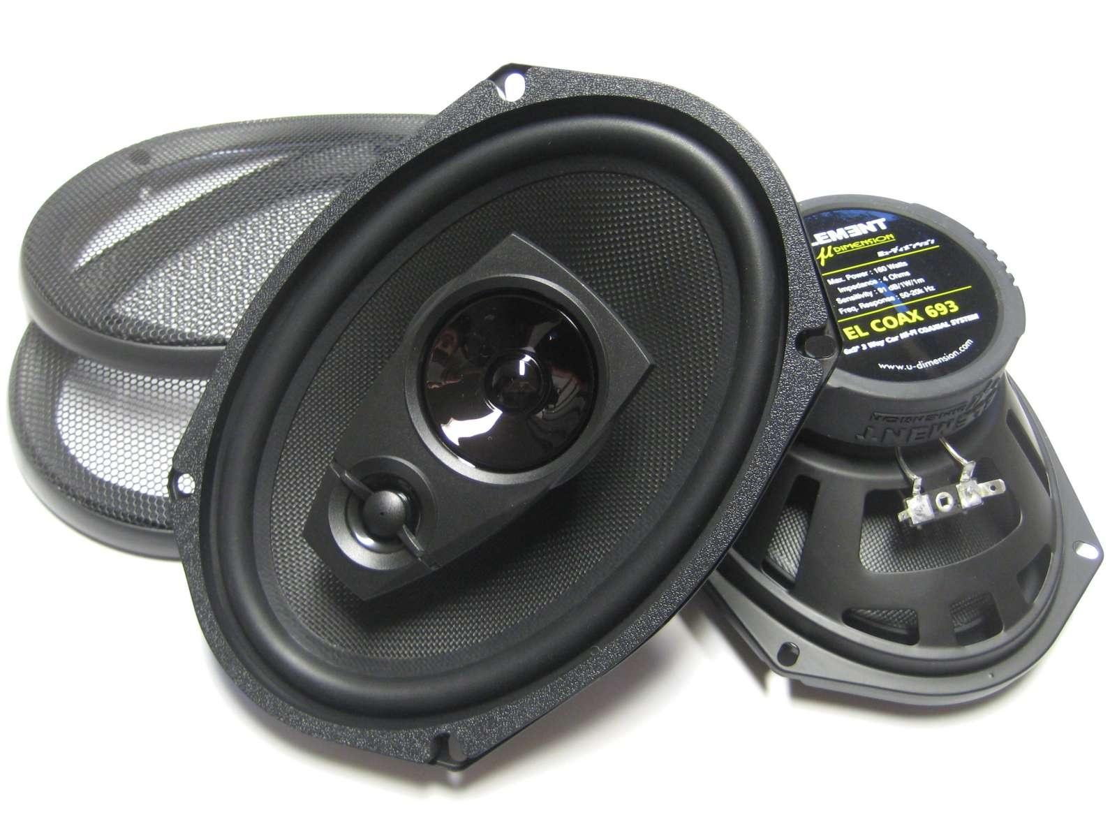 EL Coax 693 / 80 watt rms