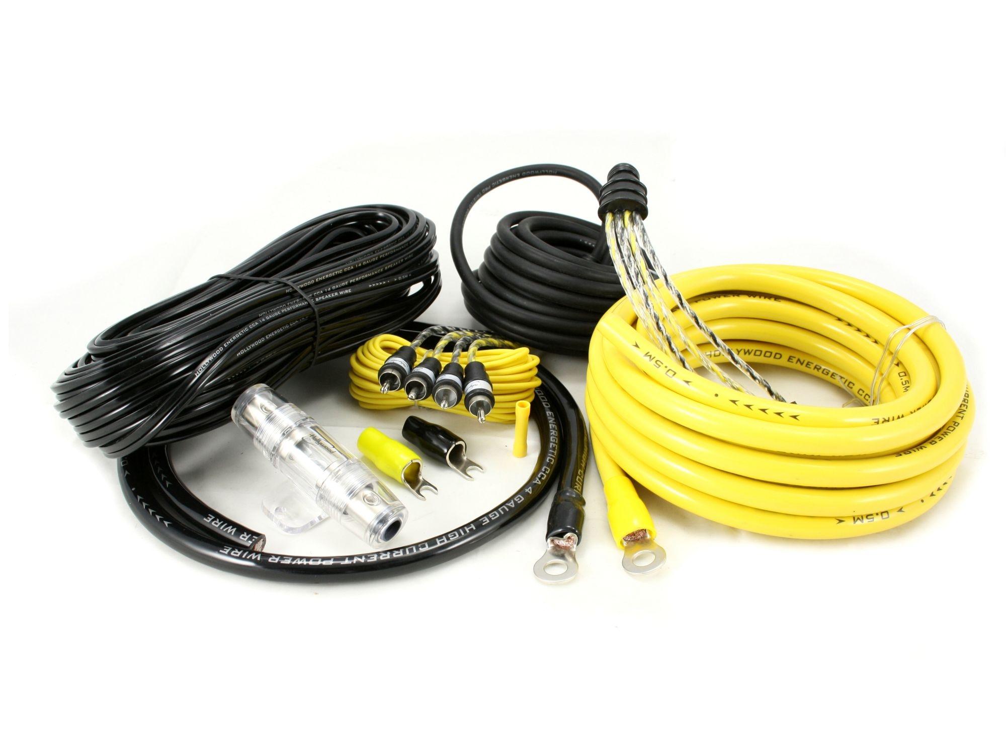 kabelset 20mm2 4 kanaals / 100% copper