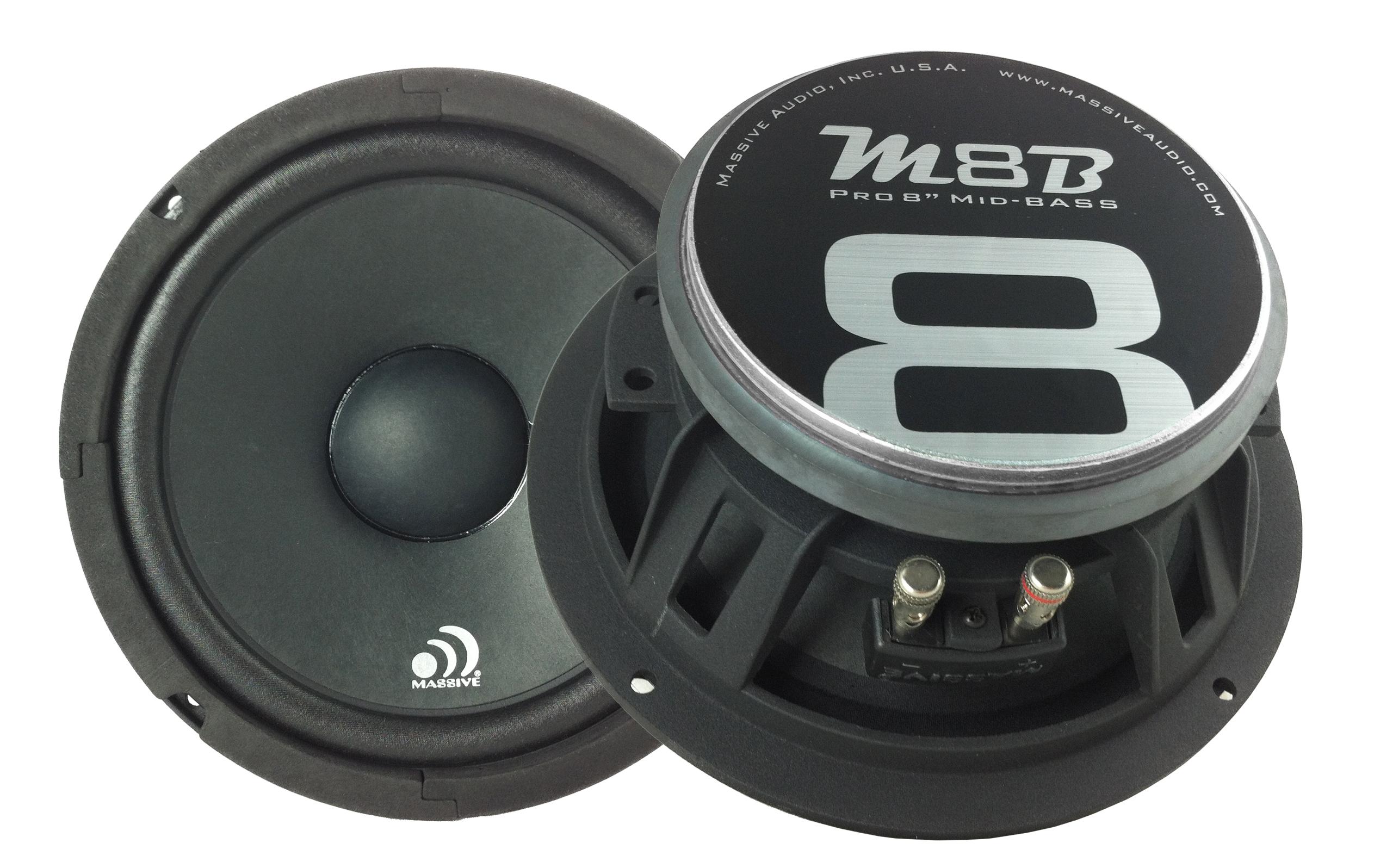 MB8  175 watt rms / 4 ohm