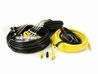 kabelset 10mm2 4 kanaals / 100% copper