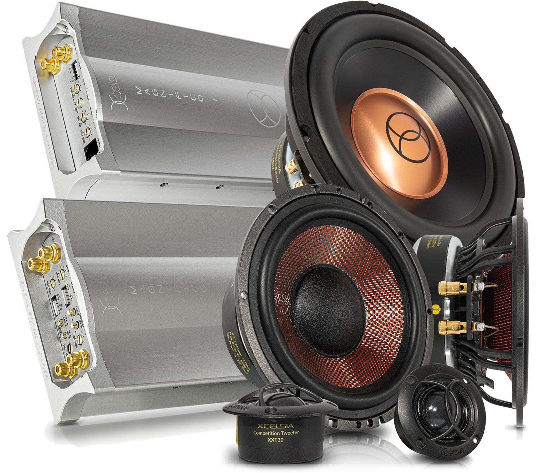 Xcelsus SQ speakers